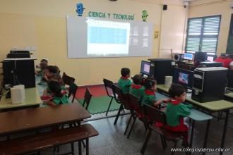 Inicio de clases de inglés y computación 57