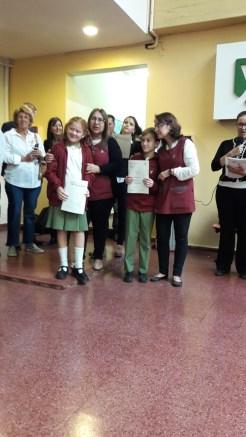 Entrega de certificados YLE primaria 12