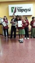Entrega de certificados YLE primaria 15