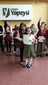 Entrega de certificados YLE primaria 31