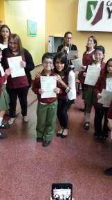 Entrega de certificados YLE primaria 44