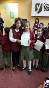 Entrega de certificados YLE primaria 46