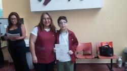 Entrega de certificados YLE primaria 55