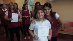 Entrega de certificados YLE primaria 63