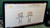 Dibujando robots 16