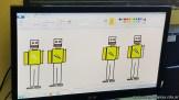 Dibujando robots 21