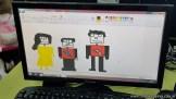 Dibujando robots 48