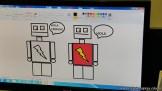 Dibujando robots 58