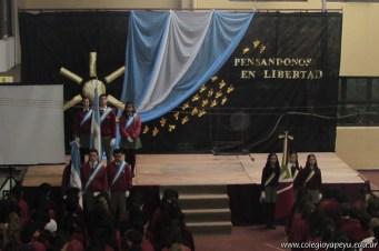 Acto por el Día de la Independencia Secundaria 6