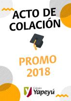ACTO DE COLACIÓNPROMO 2018