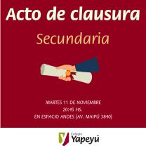 Acto de clausura (1)