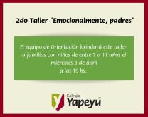 2do taller emocionalmente padres