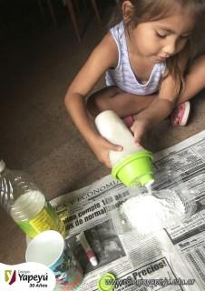 Niños trabajando en casa - Jardín (3)