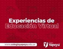 Experiencias de Ed. Virtual