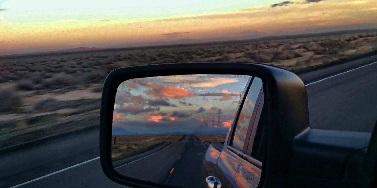 Happiness in the Rearview Mirror