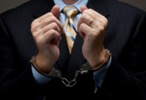 BusinessFraudHandcuffs