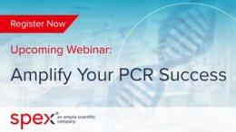 Webinar banner Amplify Your PCR Success