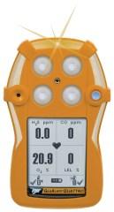 GasAlertQuattro 4-Gas Detector, Rechargeable, %LEL, O2, H2S, CO