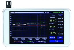 New Lab Products Digi-Sense Touchscreen Recorder from Cole-Parmer