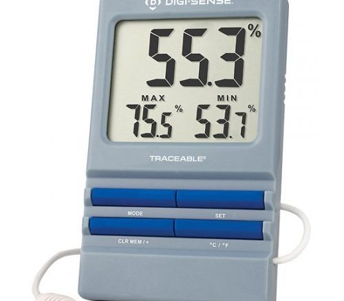 monitor and control humidity