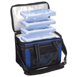 Cole-Parmer PolarSafe Transport Bag and Coole Packs Bundle Transport Container