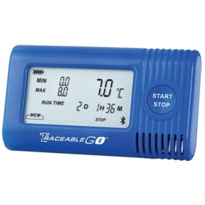 Traceable Temperature/Humidity Bluetooth Data Logger TraceableGO and TraceableLIVE