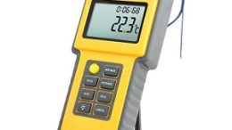 Traceable Water-Resistant Thermocouple Thermometer with Calibrations