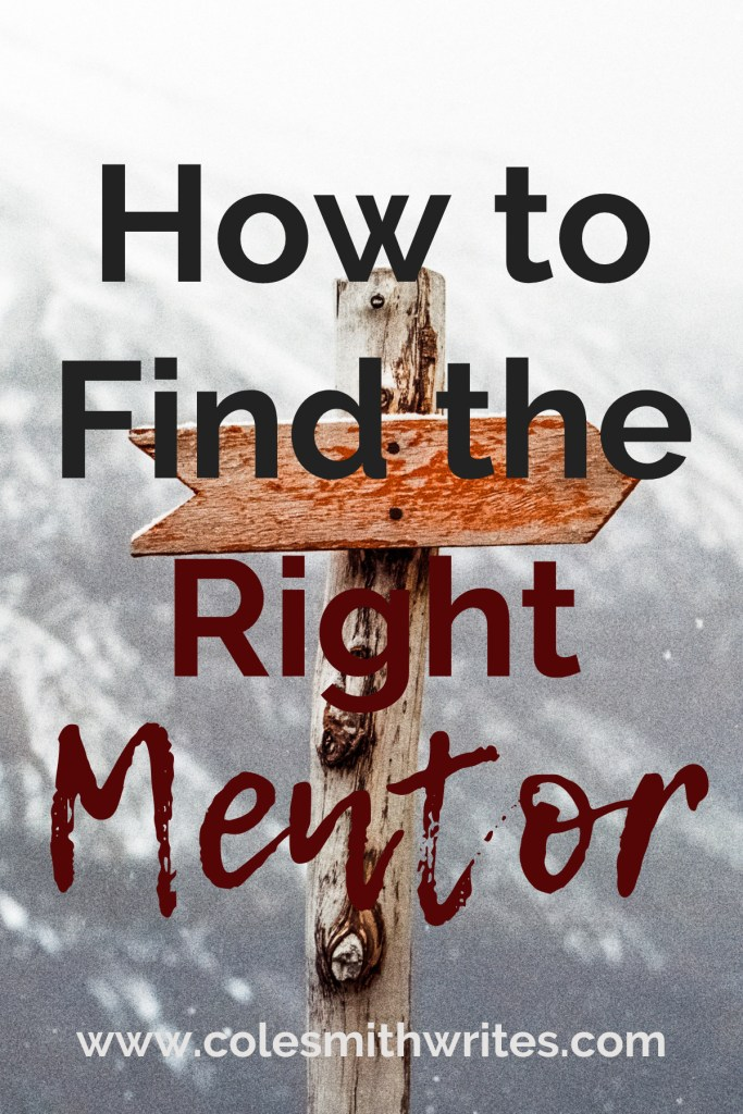 Have you been able to find the right mentor for your writing?   #writinginspiration #writinghelp