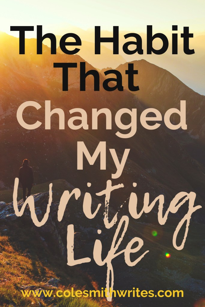 Want to know the habit that changed my writing life forever? | #indieauthors #indiepublishing #indiepub #motivation #inspiration #productivity #writingtips #fiction #writinghelp #writingadvice #writerproblems #writers #authors #readers #novel #nonfiction #planner #power #miraclemorning #tips #tricks #selfpublishing #selfpub #creatives #creativeentrepreneur #creativity #creativeinspiration #kindlepreneur #writinglife #habits #help #writeraesthetic #writingquotes #routine #ritual #planning #journaling #success #personalgrowth