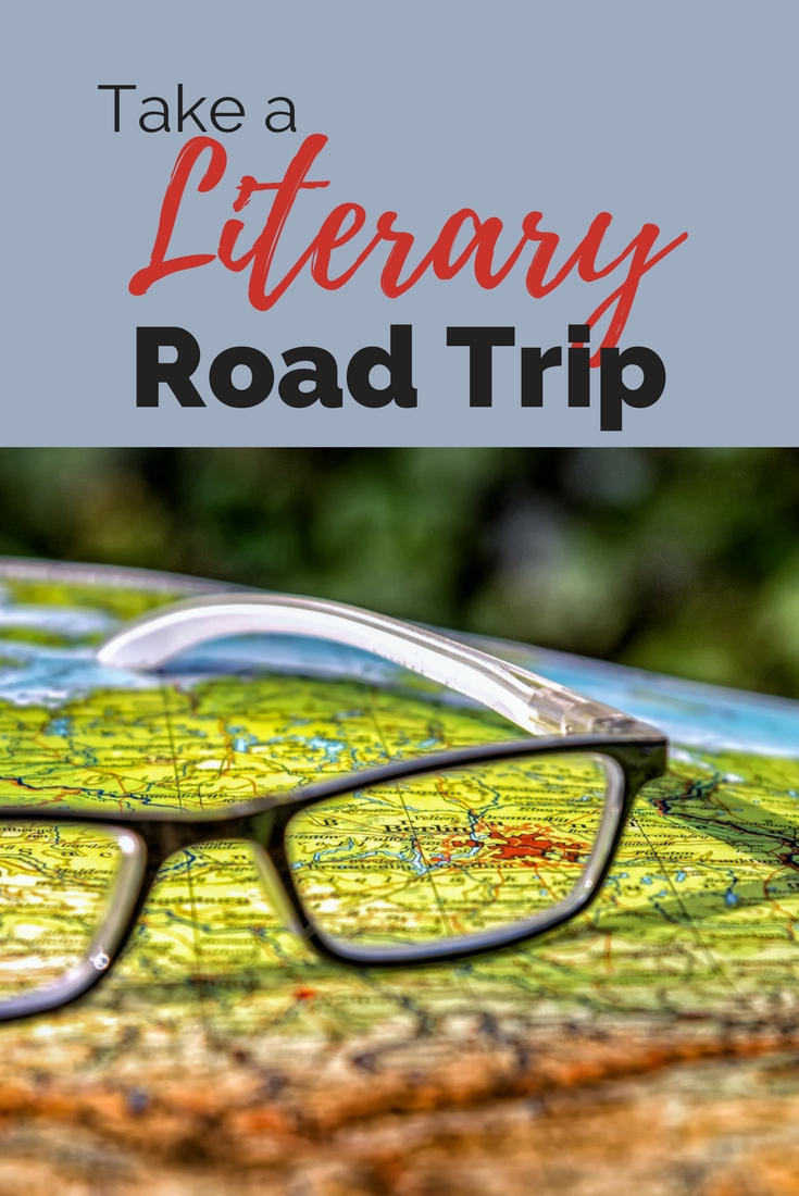 Take a Literary Road Trip! Chase your creative heroes. #travel #history #learning #reading #research #roadtrip #writers #readers #authors #writinginspiration #novelladies #books #bookcrush #booklove #characters