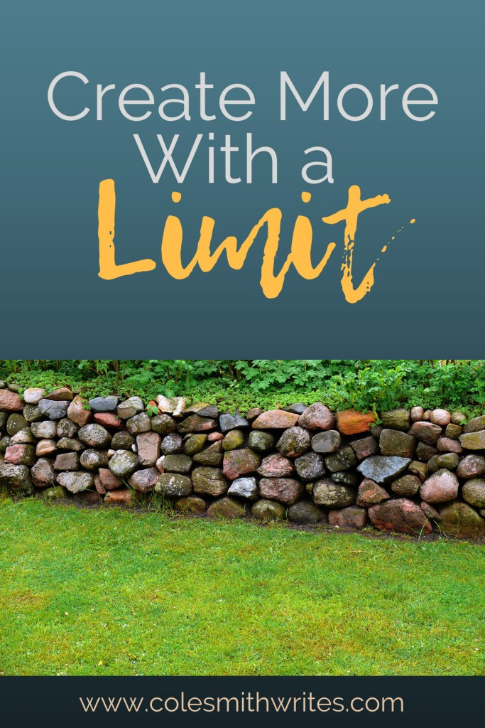 Create more with limits. Find out how our limitations force creativity.#writersunite #writinghelp #creativitytips #creativeideas #writers #screenwriters #boundaries #creativeinspiration #writingtips #fiction