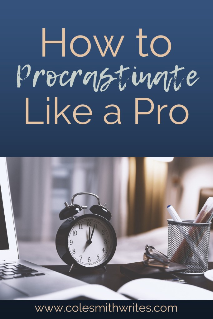 Does procrastination always have to be bad? Not if you learn how to procrastinate like a pro!