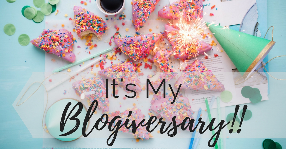 It's my Blogiversary!!