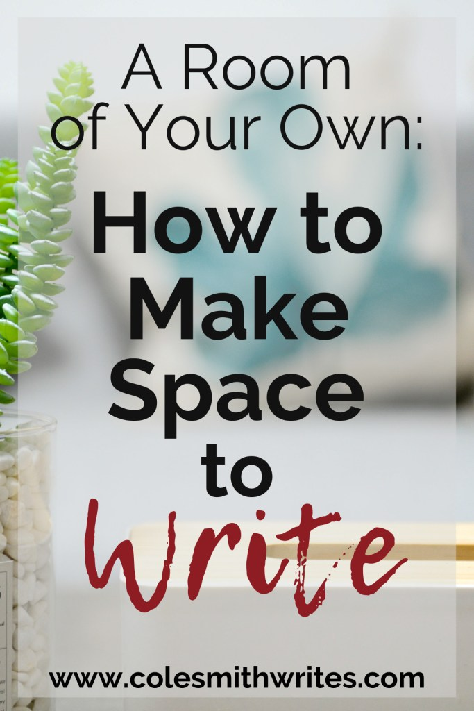 Find out how to make space to write even if you think you don't have room: | #indieauthors #indiepublishing #writingtips #fiction #nonfiction #readers #authors #writers