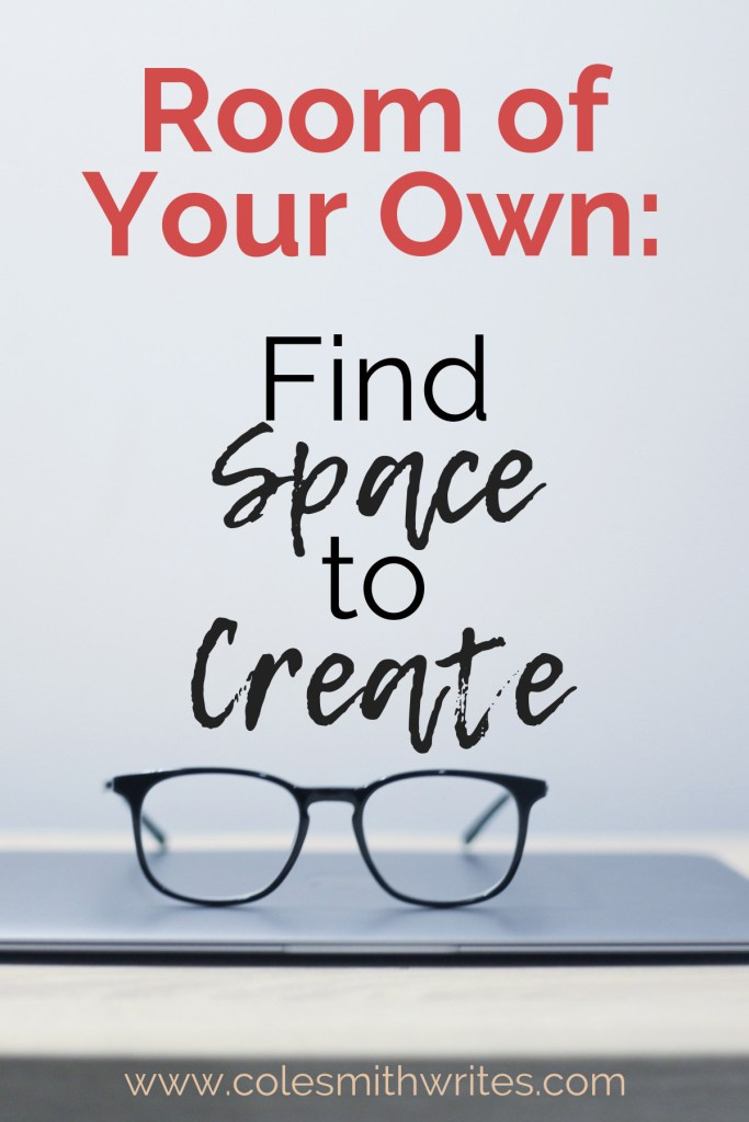 Find out how to find space to create. | #indieauthors #indiepublishing