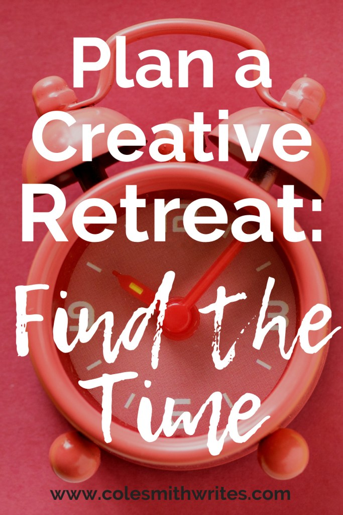 Want to take a creative retreat but think it's not possible? Here's how to find the time: | #writers #writersunite #authors #writers #writingtips #fiction #creativity #creatives