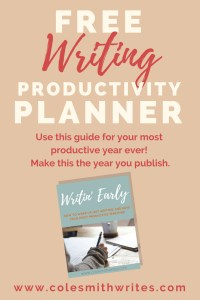 Use this free planner to increase your productivity and crush your goals this year! #writinginspiration #writingproductivity #writinghelp #amwriting #morningwriters #productivityplanners #writinghacks #writingtips #writersblockhelp #writersblock #fiction