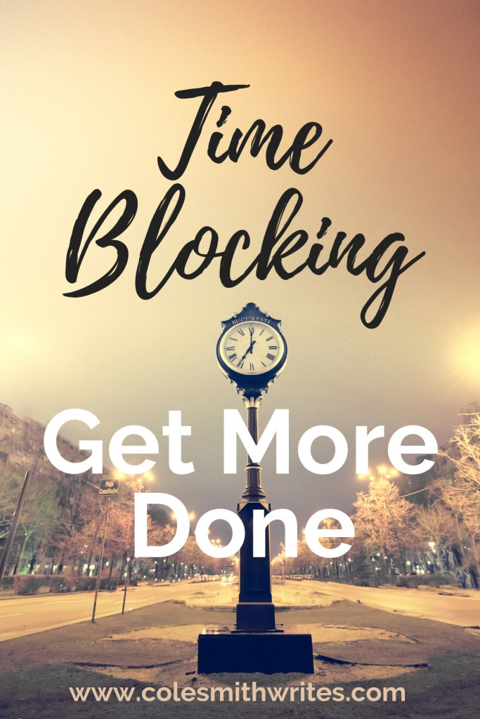 To-do list too long? Time Blocking: Get More Done | #writinginspiration #writingproductivity #organization #writing #writinggoals #writingtips #fiction #writersunite #timemanagement #productivityplanner
