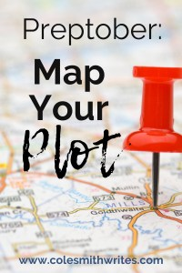 Preptober: Map Your Plot (and save time!)