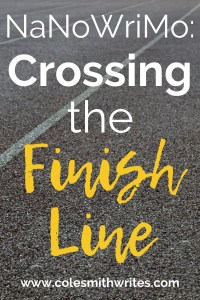 What to do when you cross the NaNoWriMo finish line |