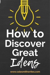 Here's how to discover great ideas | #creatives #creativity