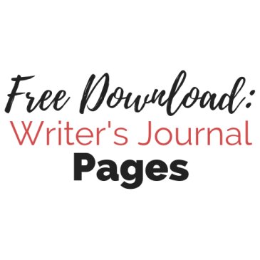 Free Download: Printable Writer's Journal Pages