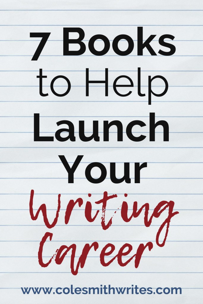 Check out these 7 books to help you launch your writing career | #bookaholic #bookworm