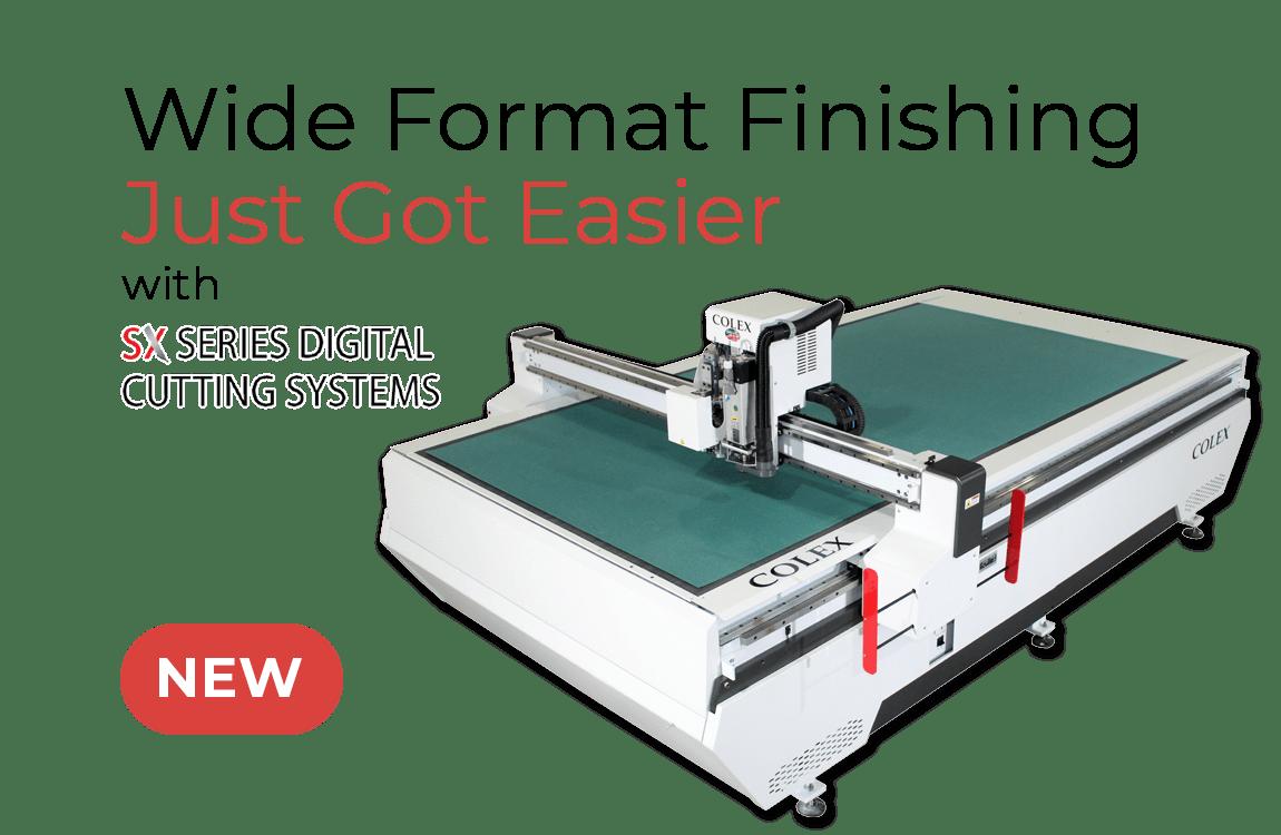 New Sharpcut Pro Standard Flatbed