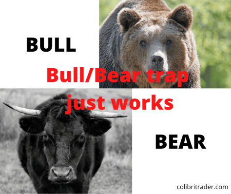price action tips with bear traps