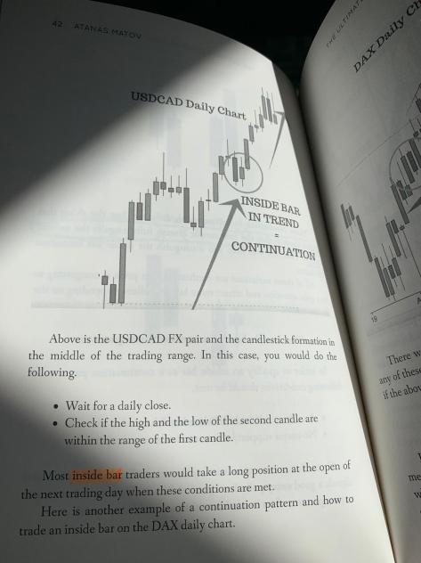 price action patterns book