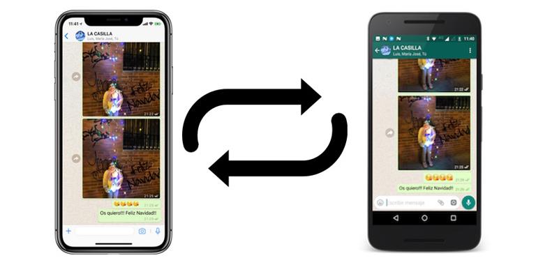 Pasar los datos de un iPhone a Android, paso a paso