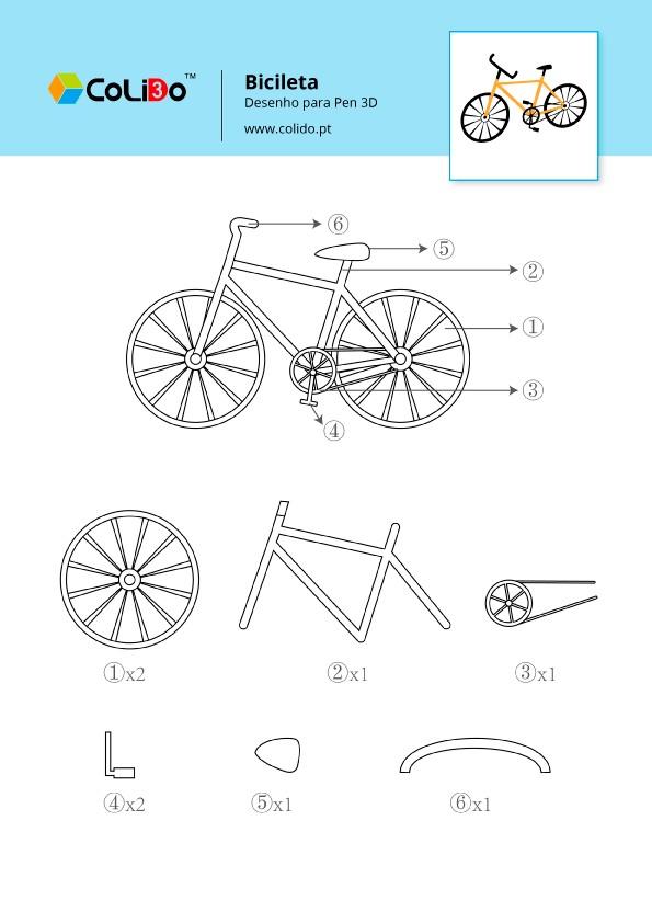 CoLiDo-3d-pen-modelo-bicicleta