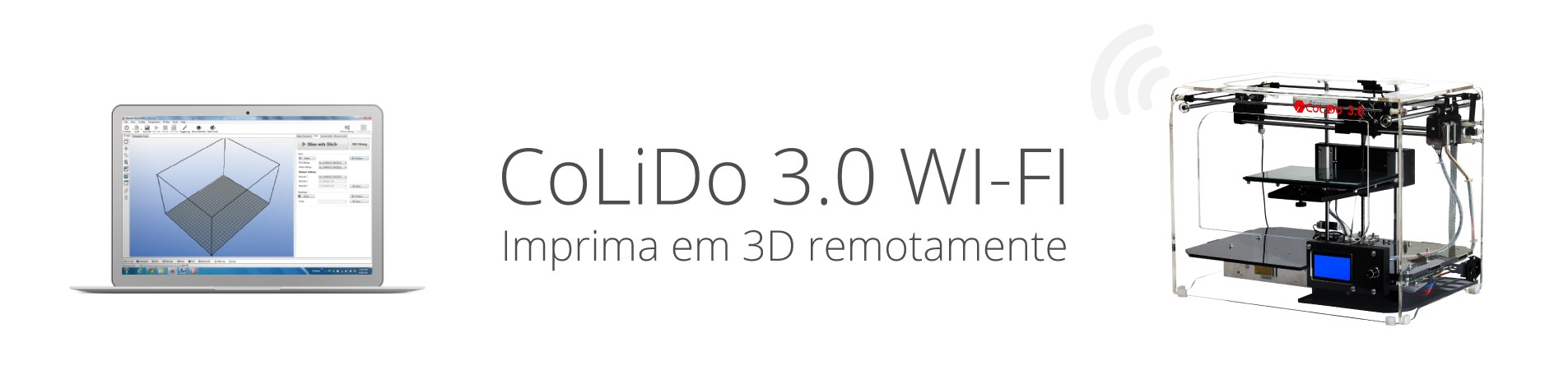 Impressora Colido 3.0 WiFi