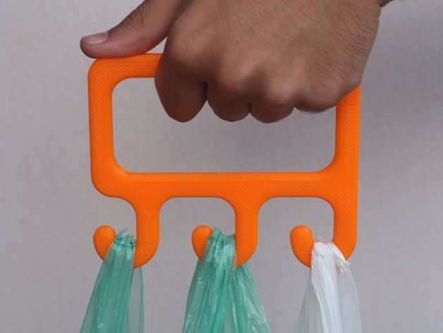 Porta sacos ergonómico